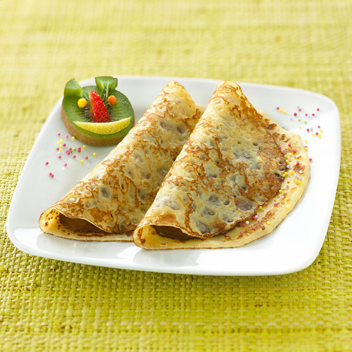 Sweet Fluffy: Sweet Filled Fluffy Crepes