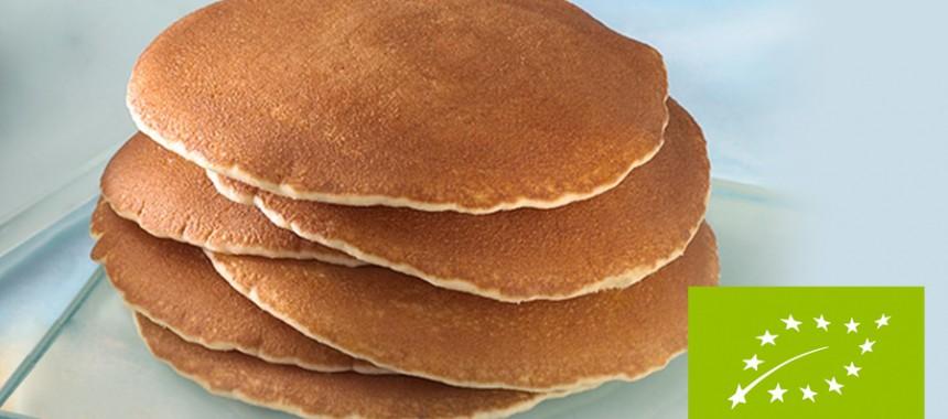 Organic pancakes